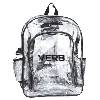 Click here to view the Large Clear Backpack w/Side Pockets