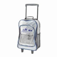 AllCasion Clear Rolling Backpack BC19500