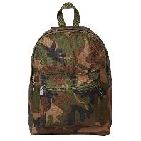 Click here for an enlarged picture of the Woodland Camo Basic Backpack
